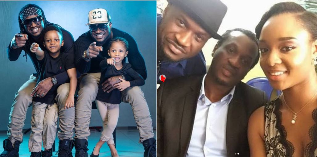 """""""We love you two"""" – Paul Okoye's wife, Anita, tells Peter and Paul as she celebrates them on their birthday"""