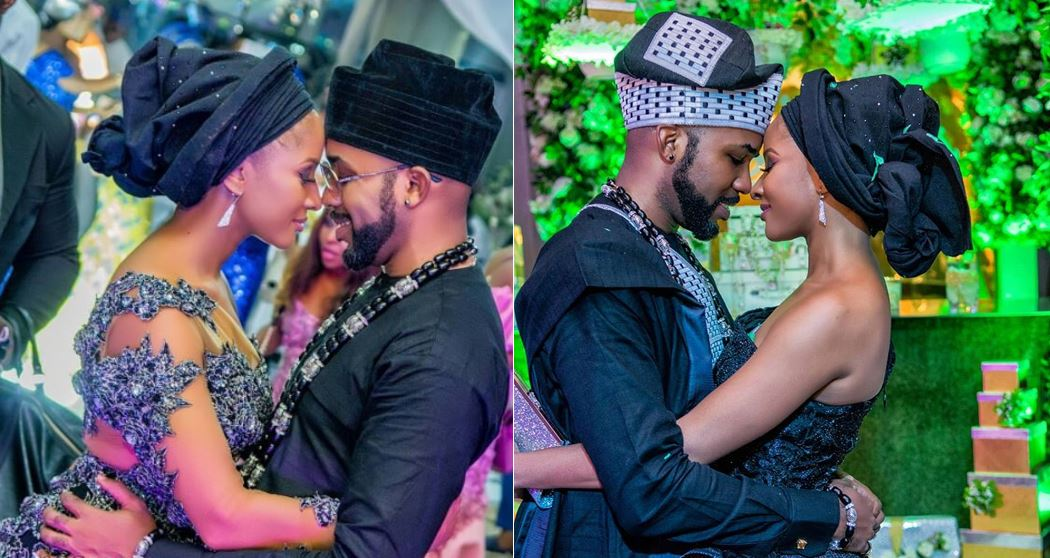 Adesua Etomi  And Banky W Share Cute Photos And Heartwarming Love Notes To Celebrate Their 1st Traditional Marriage Anniversary