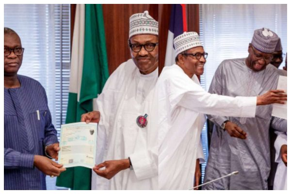 I sat for WASC in 1961 – Buhari tells Nigerians after receiving certificate