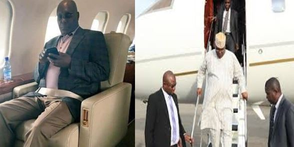 Atiku cries out after Army, Police, Custom and Immigration officers  searched his plane as he returns to Nigeria – Ben Bruce, Reno react