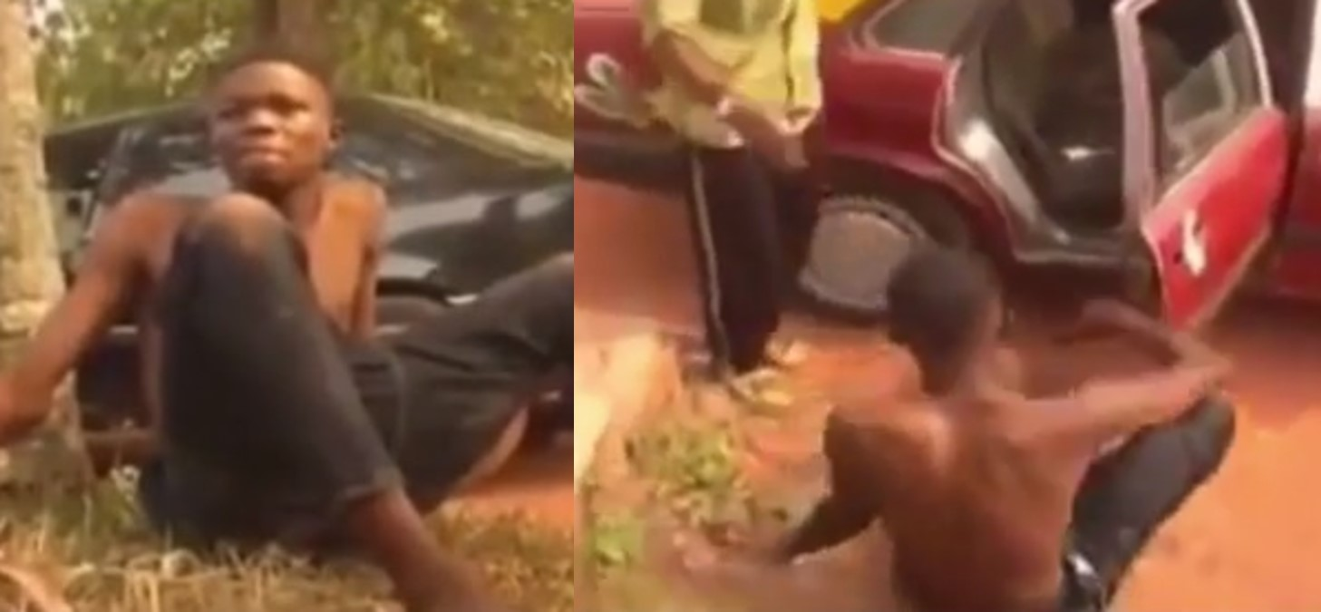 Yahoo Boy Apologizes For Submitting His Best Friend's Mom's Name For Ritual In Edo State (Video)