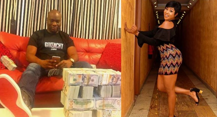 Mompha shames actress Charity Nnaji for calling him stingy after begging for money, she reacts