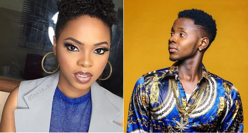 Between Kizz Daniel, Chidinma and a fan who said he wants to 'suck' her lips nicely