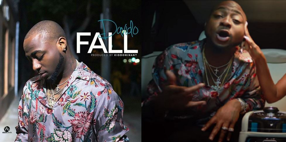 Davido's 'Fall' becomes most viewed Nigerian music video on YouTube, he takes to Instagram to celebrate the achievement
