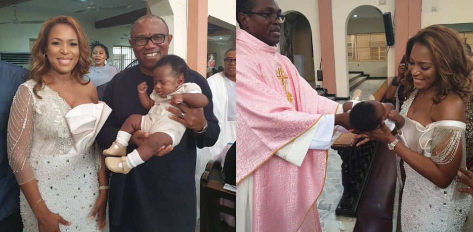 Photos From The Thanksgiving Service Of Linda Ikeji's Son, Jayce