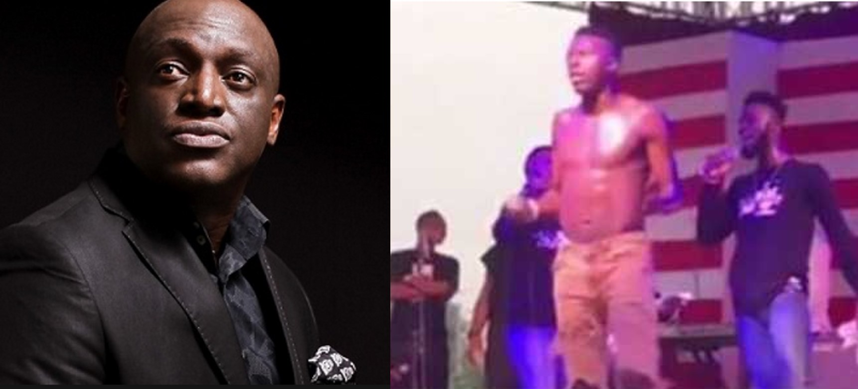 Sammie Okposo blasts Akpororo for going topless to praise God in a concert