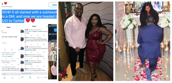 Nigerian couple who met on Twitter 6 years ago, set to marry, shares screenshot