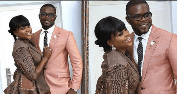 Actress Funke Akindele and husband, JJC Skillz welcomes their first child together