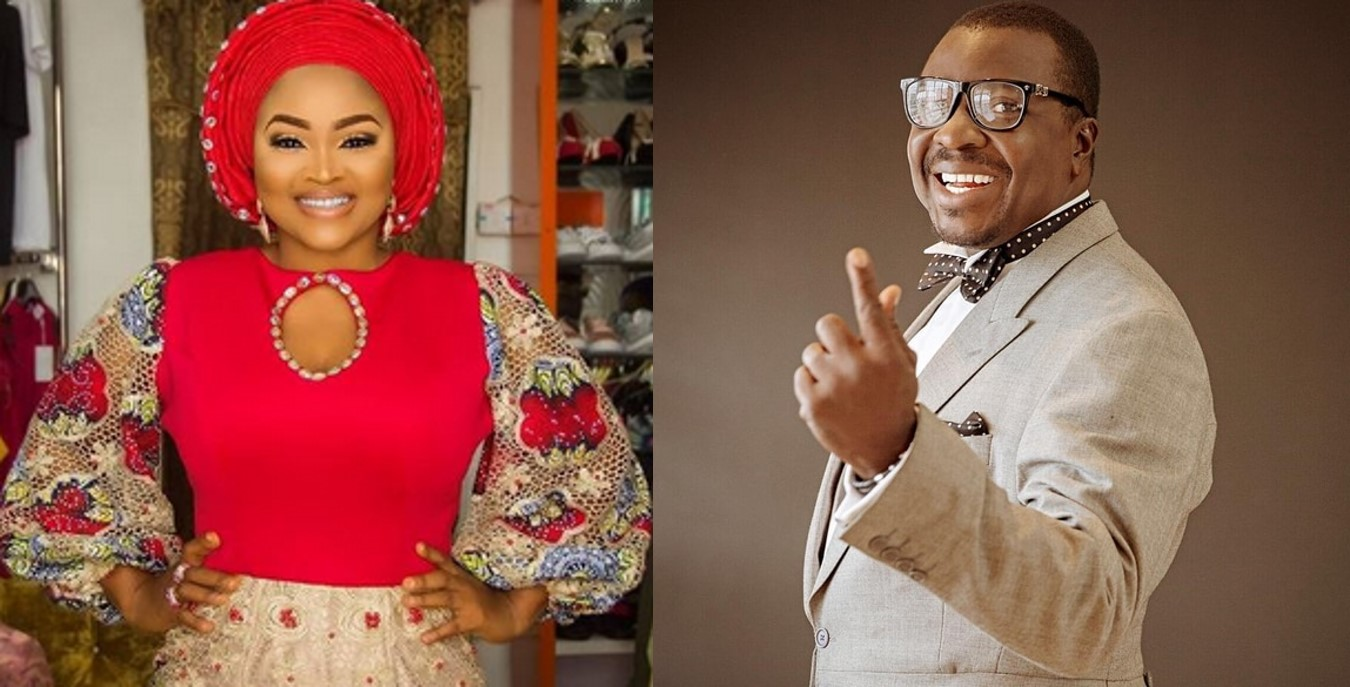 Actress Mercy Aigbe reacts to Alibaba's post about Nollywood actresses