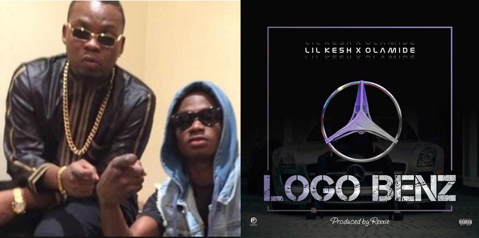 Nigerians blast Olamide and Lil Kesh for promoting 'yahoo-yahoo' and 'blood money' in their latest song 'Logo Benz'