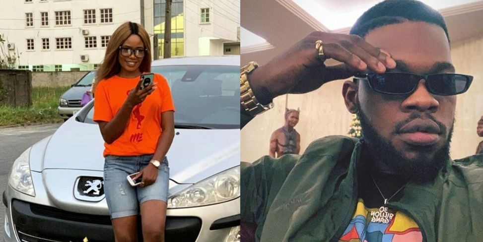 Aunty Shaggi Poses With The Car Broda Shaggi Gave Her As New Year Gift (Photos)