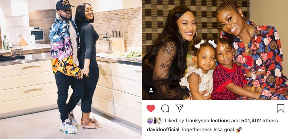 Chioma deletes her Instagram account after Davido celebrated his baby mamas