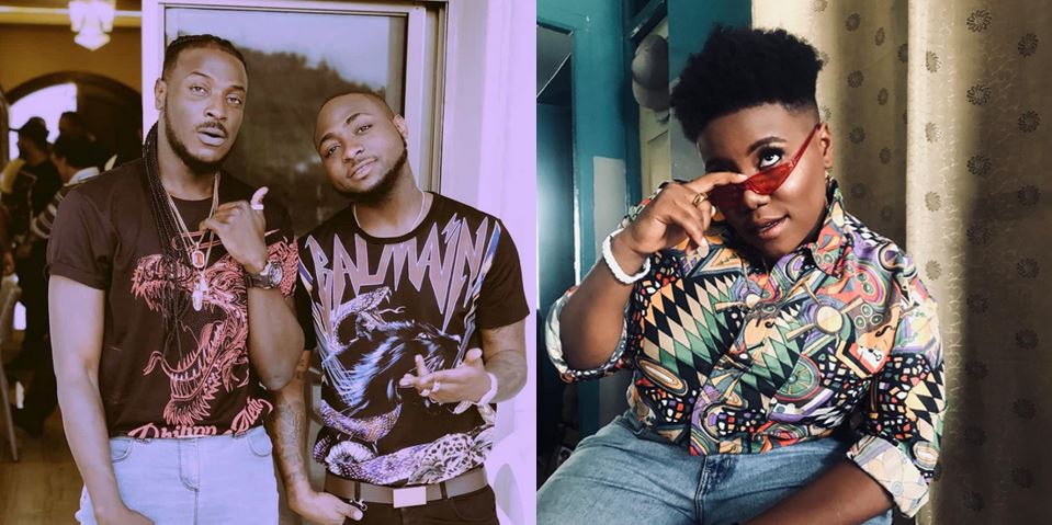 Davido reacts to Peruzzi's loss to Teni as the 'Best New Artiste of 2018' at Soundcity MVP awards