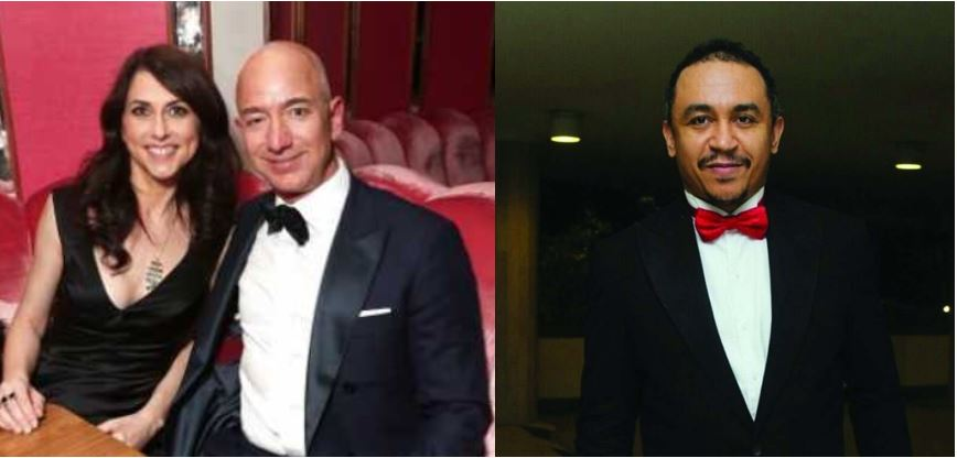 90% of Nigerian men are like Jeff Bezos – Daddy Freeze claims