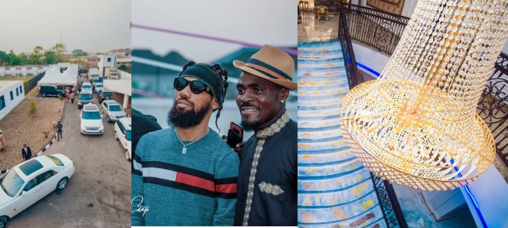 Photos From The launching Of Emmanuel Emenike's Mansion in Owerri