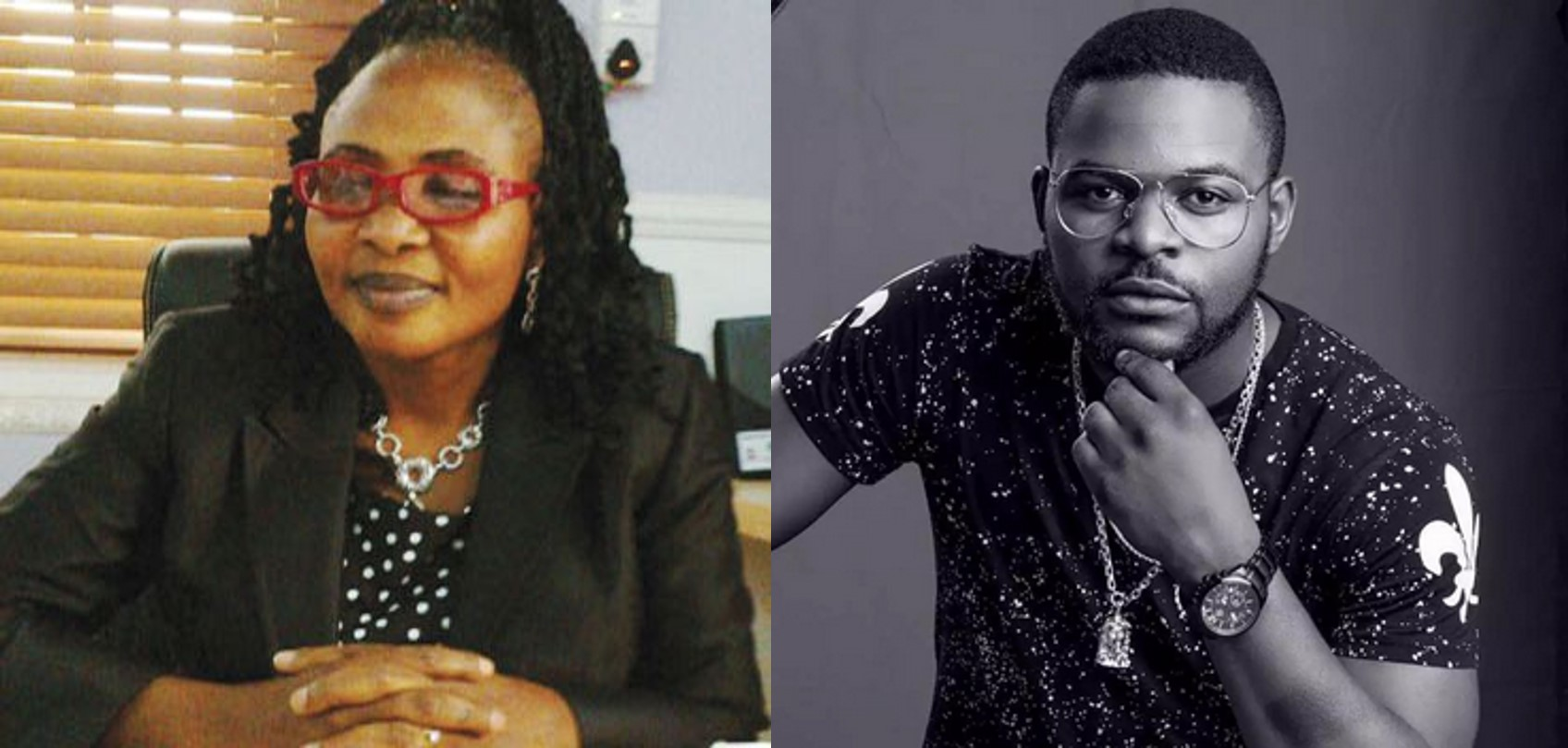 Falz, you don't go to church and I am bothered – Mother cries out,  Falz explains why