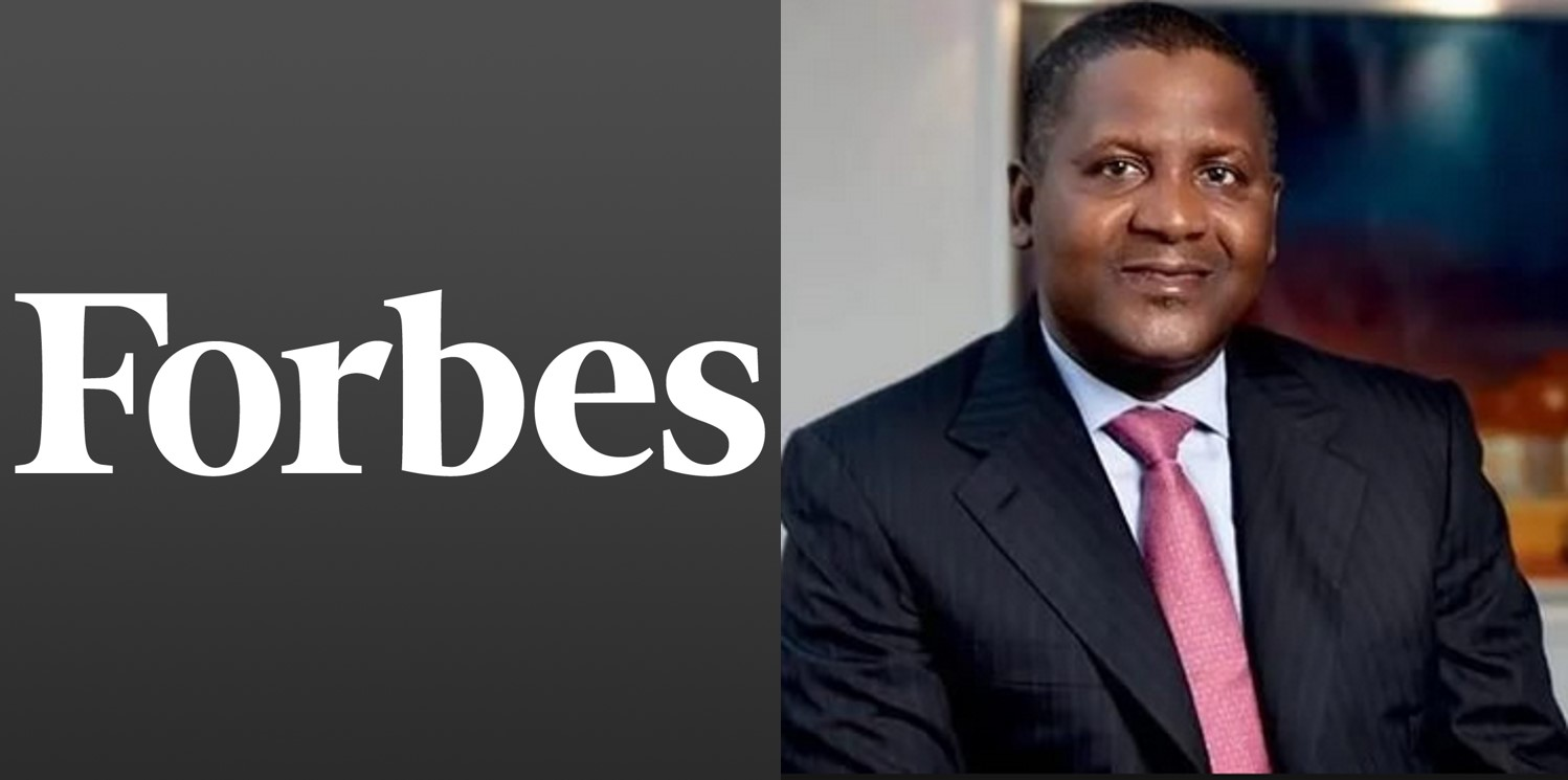 Forbes releases 2018 list of Africa's Richest billionaires, Nigerians take top 2 spots (Full list)