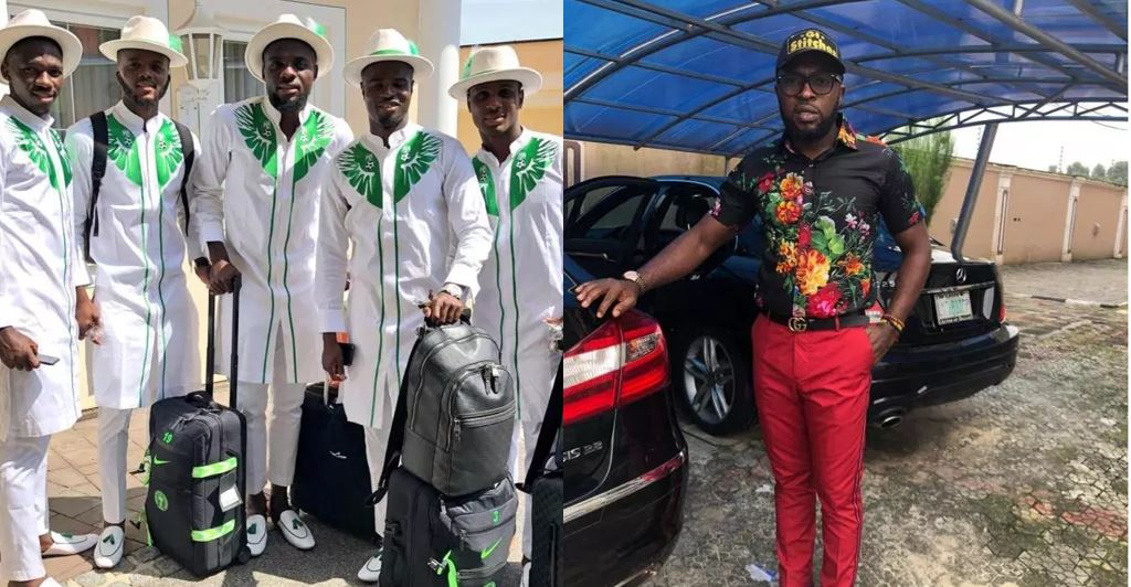 Tailor behind Super Eagles' World Cup native outfit calls out NFF over failure to pay him