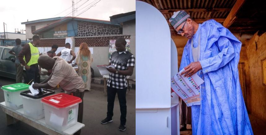#NigeriansDecide2019: Photos From Polling Units As Nigerians Go Out To Vote