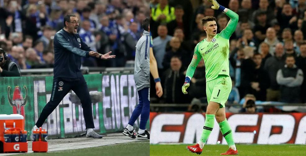 Chelsea Punishes Kepa For Refusing To Be Substituted During The Carabao Cup Final Loss To Manchester City