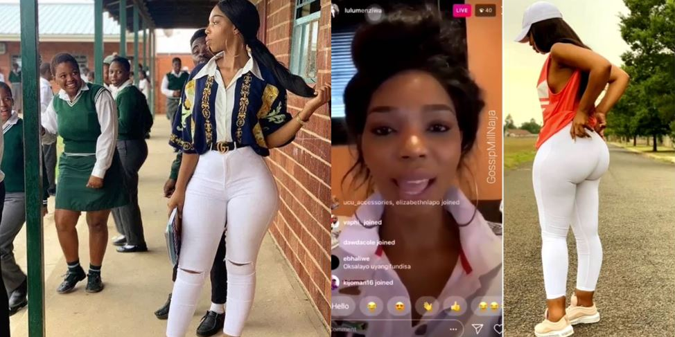 My Students Are Not Like You all – Heavily Endowed Secondary School Teacher Whose Photos Went Viral Speaks Out (Video)