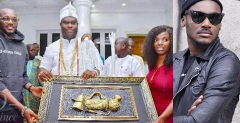 Ooni of Ife thanks Annie Idibia for taking care of 2baba' (Video)