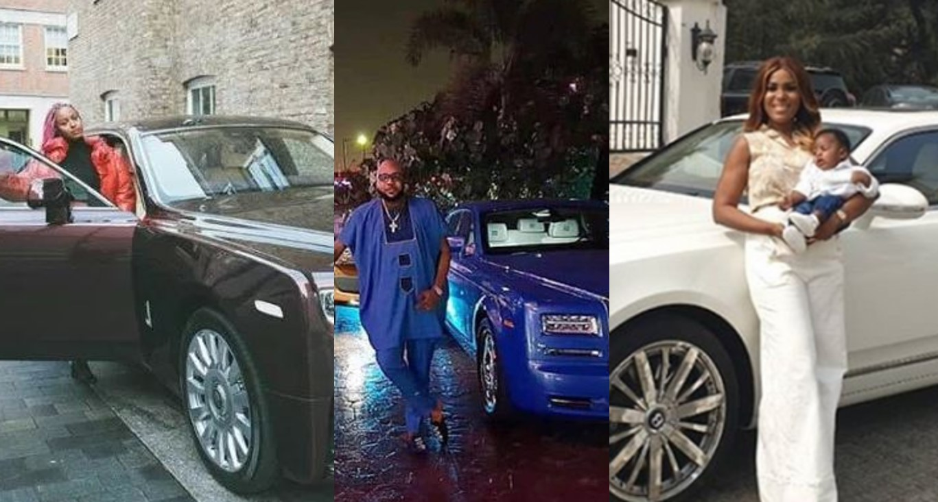 The Expensive Luxury Cars In Nigerian Celebrities' Garages