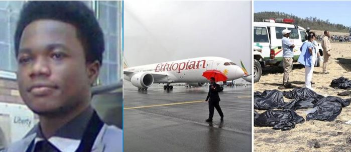 The Ethiopian Airline which crashed yesterday was predicted by Prophet Cosmos Walker on Facebook (Reactions)