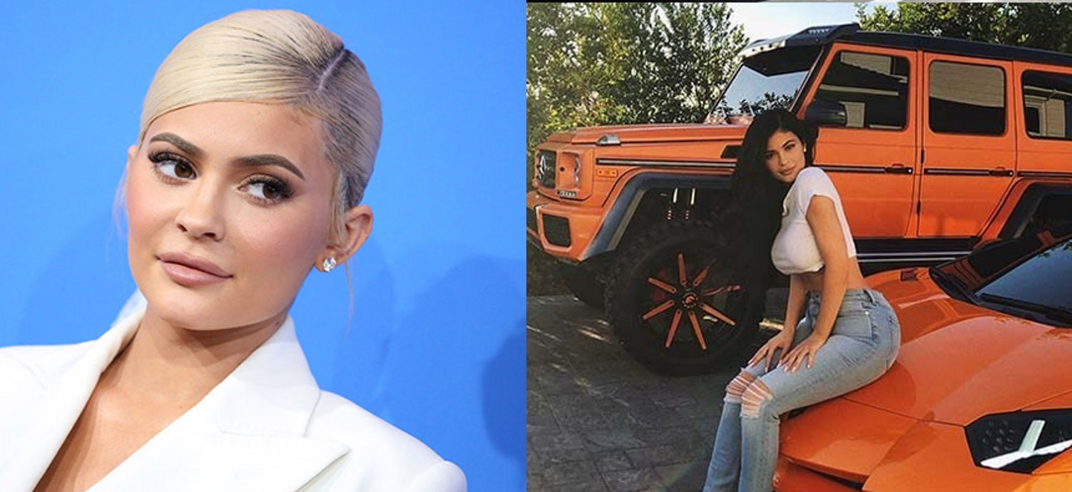 Photos of the expensive cars owned by the youngest billionaire, Kylie Jenner