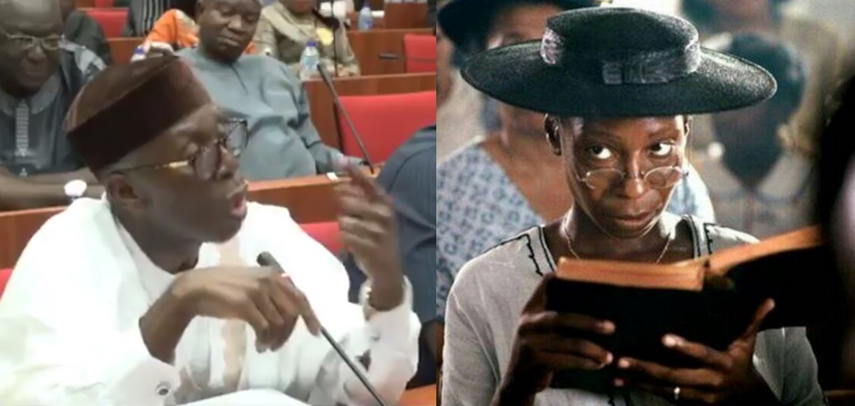 Nigerians react as Minister of Agriculture says Nigerians order pizza from London