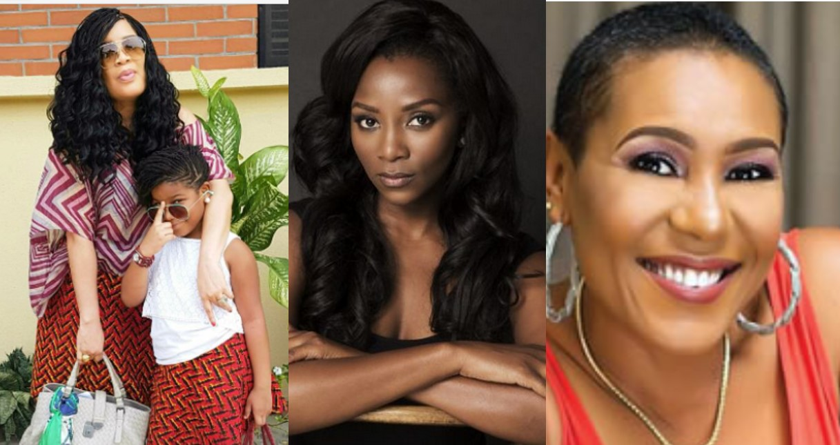 Nollywood female stars who are single mothers