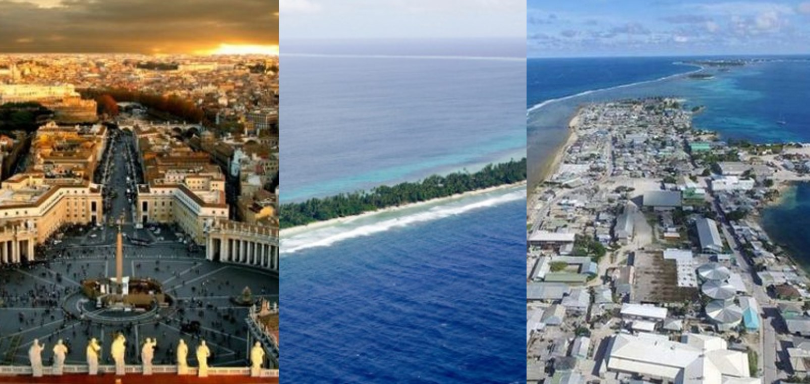 10 smallest countries in the world today
