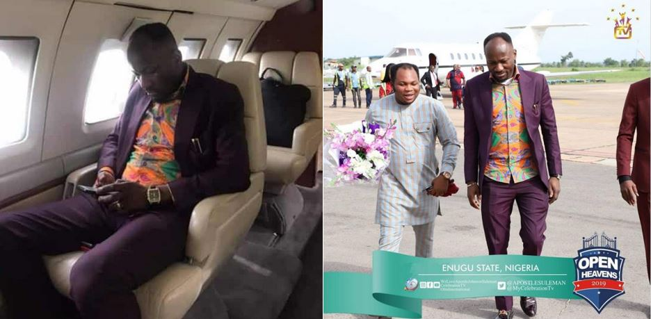 Apostle Suleiman reacts to comments about his new private jet (Video)