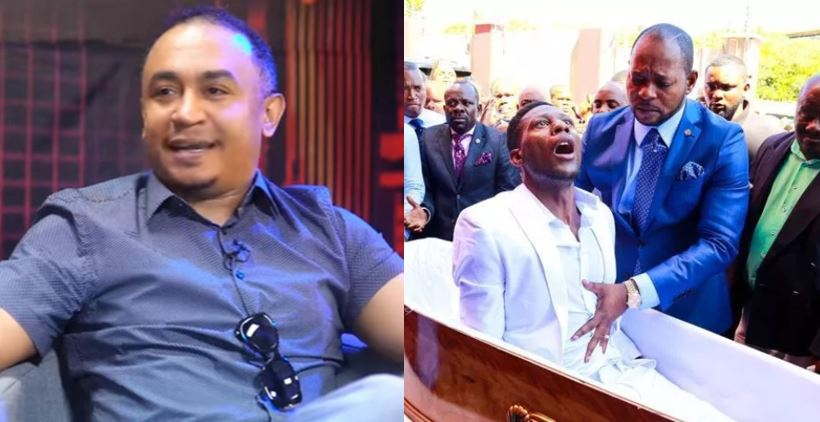 Daddy Freeze reacts as man who was resurrected by Prophet Alph Lukau allegedly kicks the bucket again