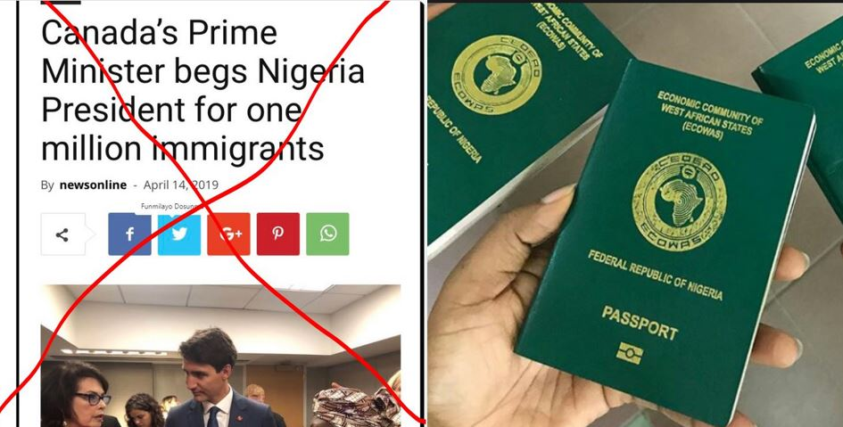 'We didn't beg President Buhari for one million immigrants' – Canadian embassy debunks rumours
