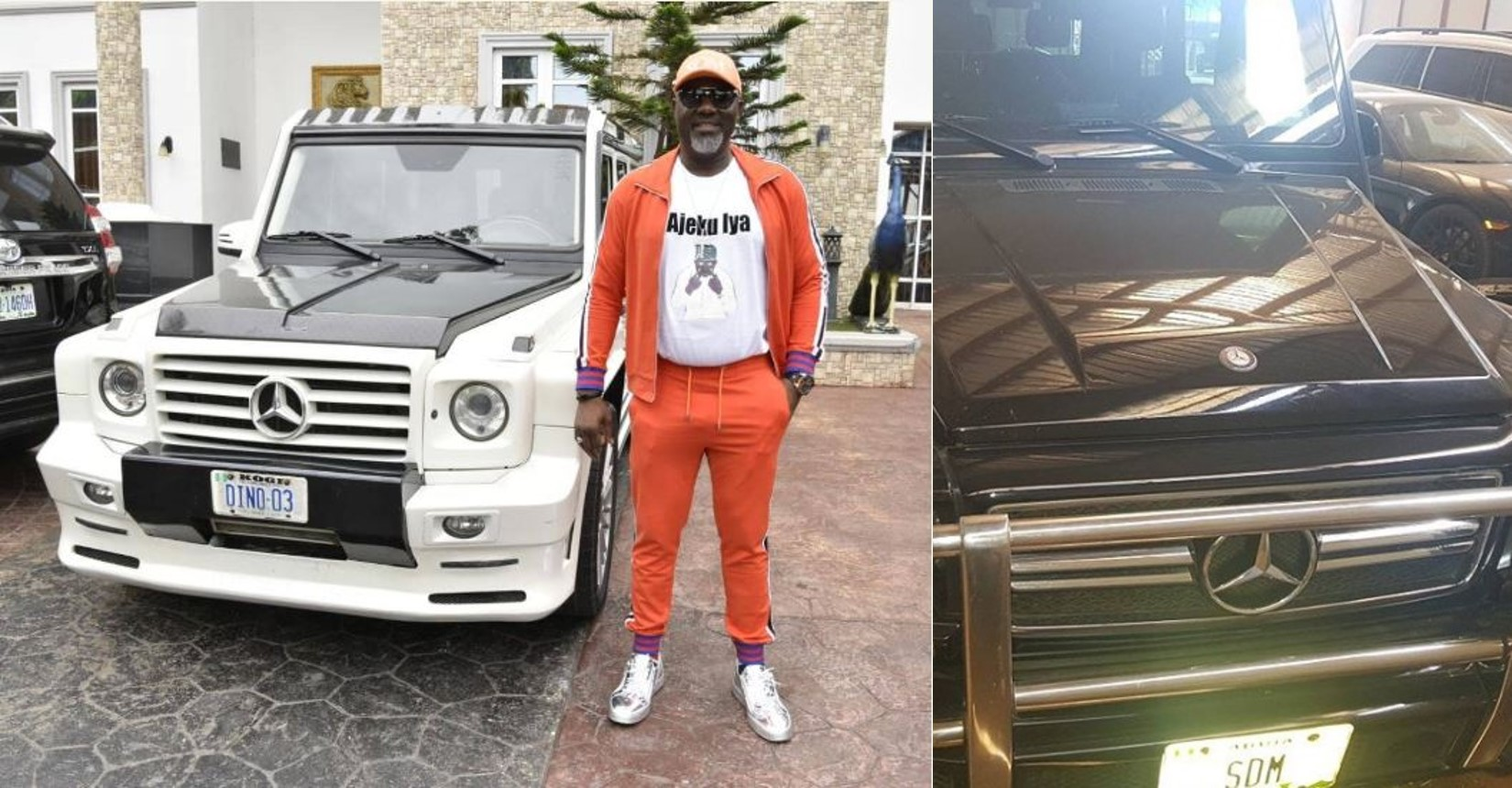 Nigerians react as Senator Dino Melaye calls out Sahara Reporters for undervaluing his G-Wagons