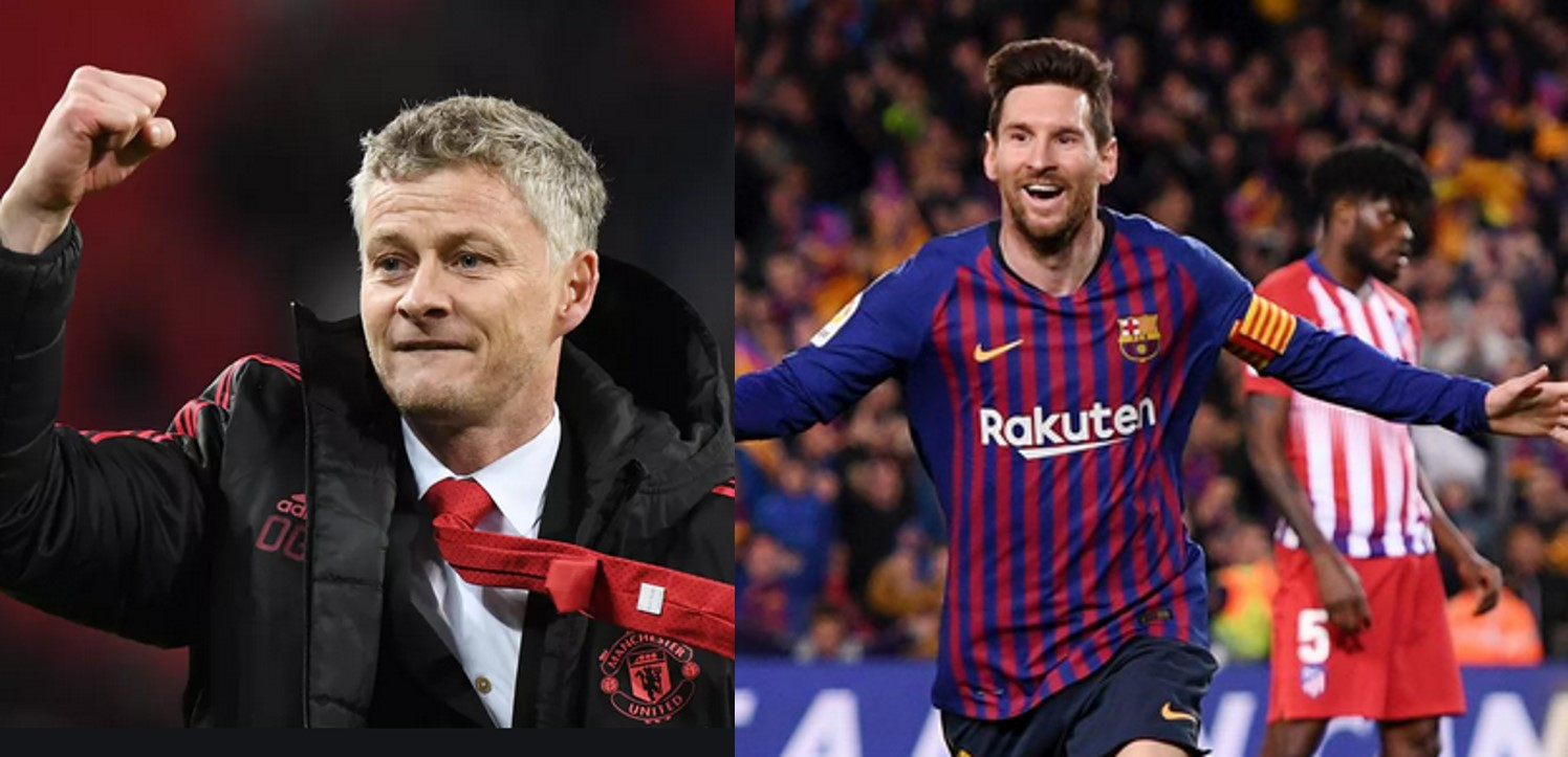 Messi will be difficult to stop but it is never impossible – Solskjaer