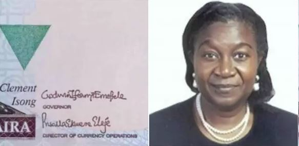 Meet the 1st woman, Priscilla Ekwere, with her signature on 1000 Naira note