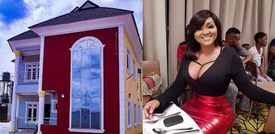 Mercy Aigbe debunks rumours about renting her mansion