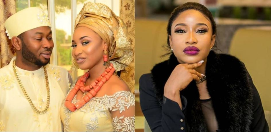 Olakunle Churchill is not Mr X!! – Tonto Dikeh reveals why she lied about his identity before they got married