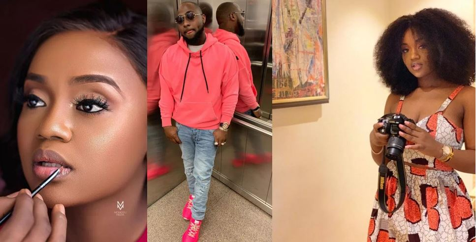 Davido replies fan who said Chioma is Lucky to have him