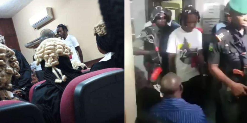 BREAKING  NEWS: Naira Marley pleads not guilty, to be remanded in custody until May 30
