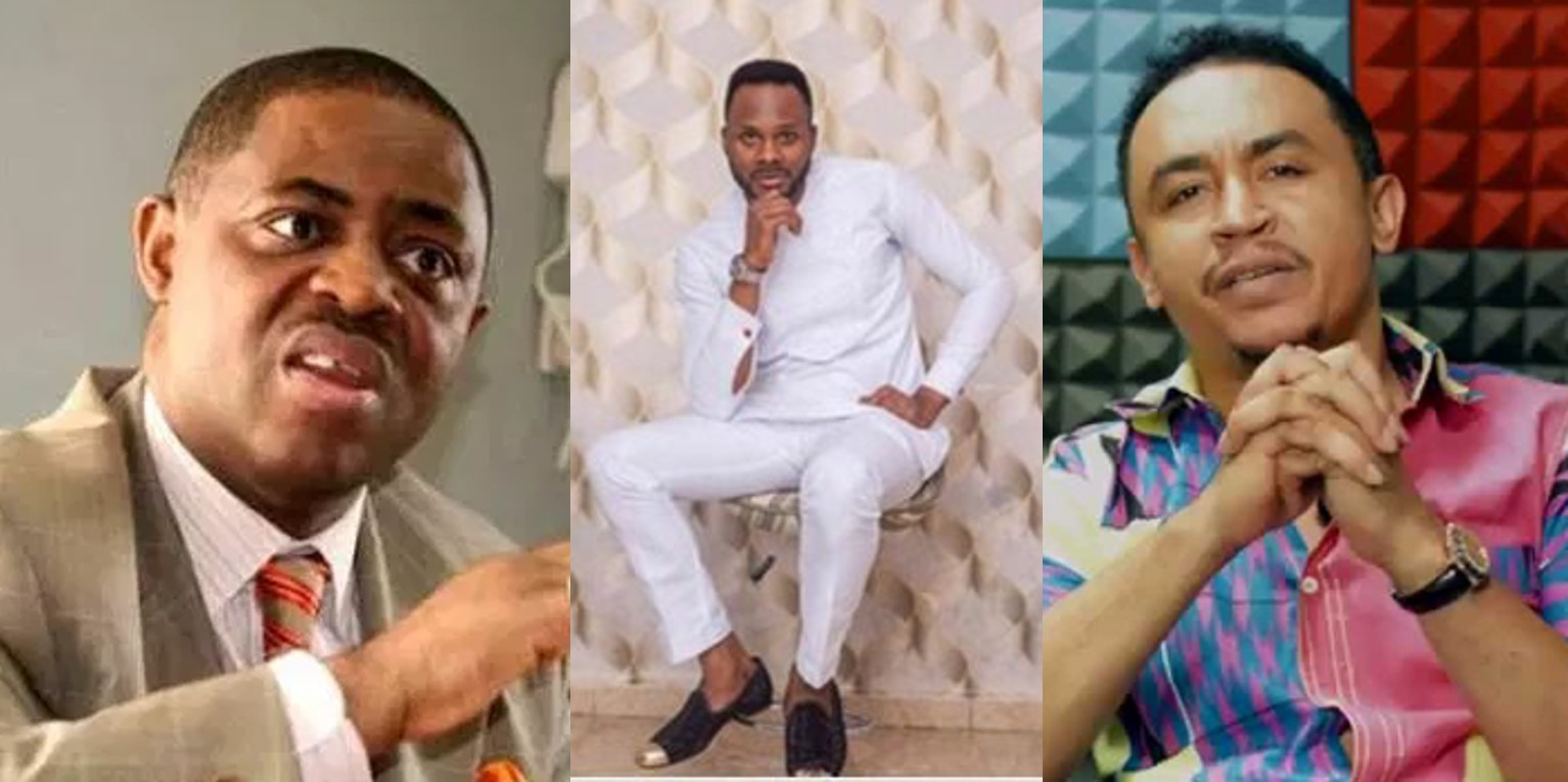 Fani-Kayode and Daddy Freeze blast RCCG after one of its pastors committed suicide due to 'house rent issues'