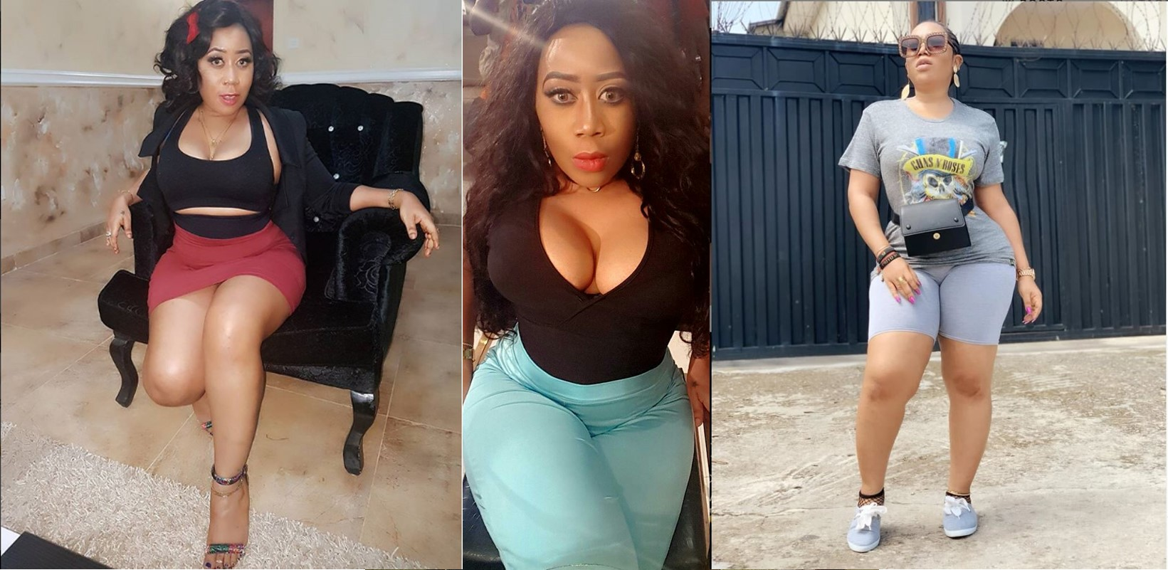 Fan blast actress, Moyo Lawal for photoshopping her hips