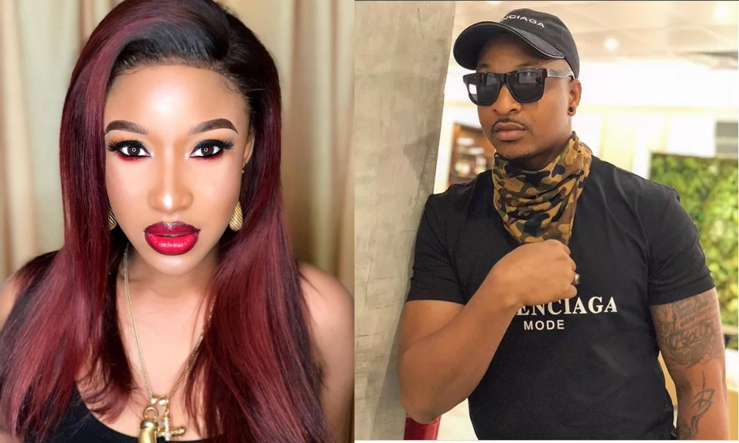 IK Ogbonna shades Tonto Dikeh, she fires back (screenshot)