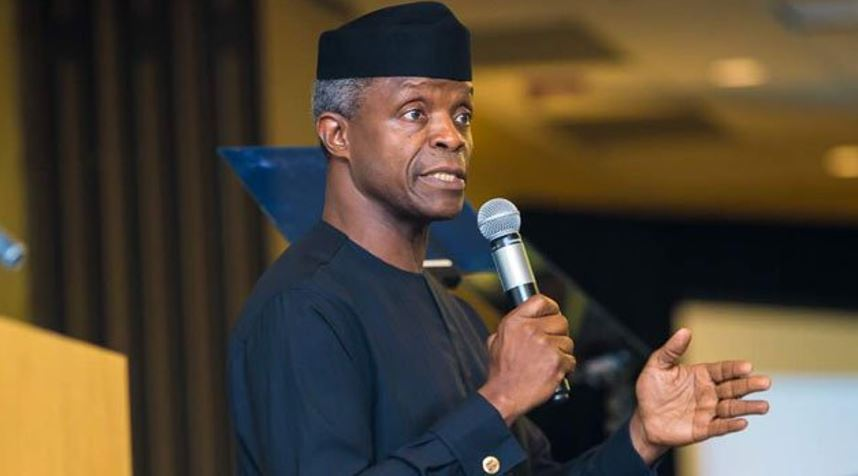 Vice President, Yemi Osinbajo, reveals why Nigeria is faced with insecurity and other challenges