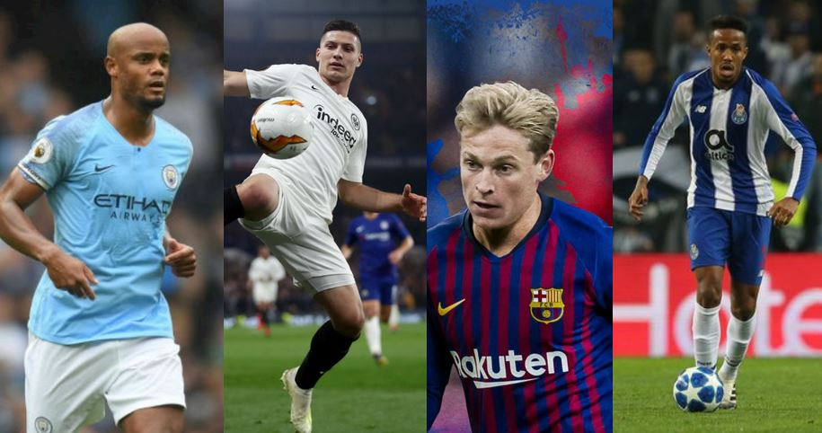 All Completed and Confirmed Transfers Across Europe's Top Five Football Leagues