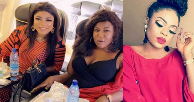 Bobrisky brags about flying on a business class with his makeup artist