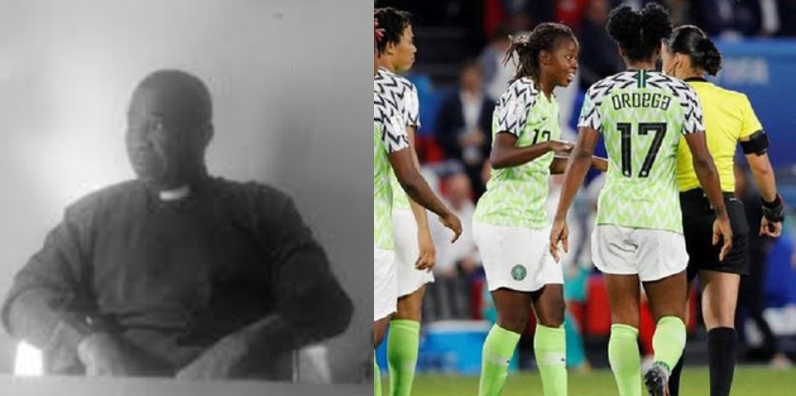 Enbonyi based pastor who predicted that the Super Falcons will reach semi finals speaks out, blames other spirits