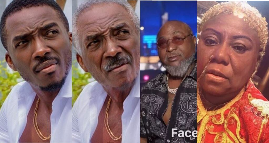 Photos of your favourite Nigerian celebrities from the Trending #FaceApp challenge, how they will look when they grow old
